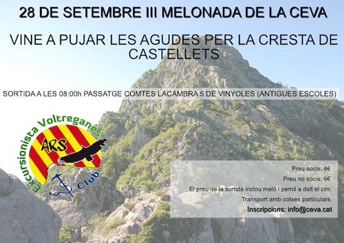 Agudes per Castellets - 28 de setembre del 2014
