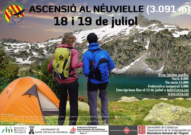 3.000 de la CEVA 18 i 19 de juliol - Pic Néuovielle